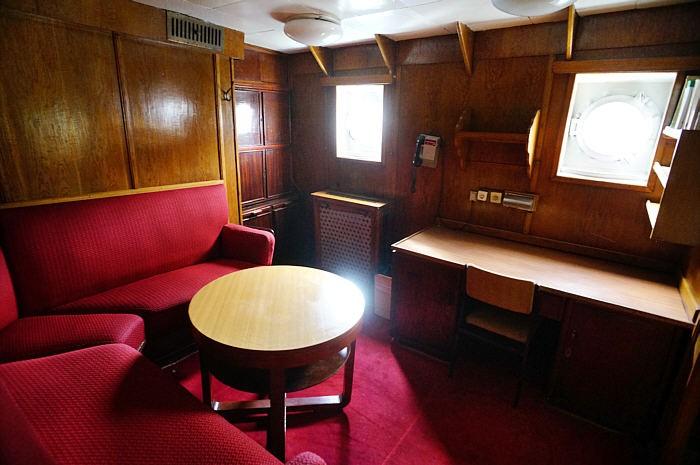 Jedno z pomieszczeń na statku