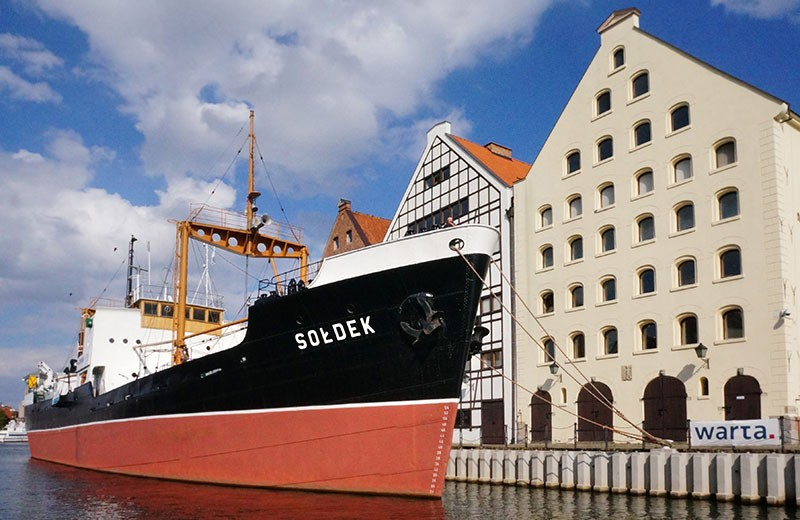 "GDAŃSK - Statek - muzeum ""Sołdek"""