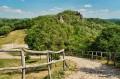 SIROK - Ruiny zamku na górze