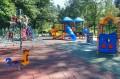 Plac zabaw w parku
