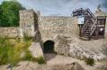 Mury zamku zamienione na platformę widokową