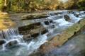 Wodospad w Uhercach