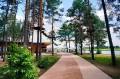 Alejka w Parku i fragment trasy linowej