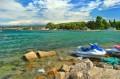 Widok na Adriatyk z Borika