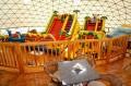 Plac zabaw pod namiotem