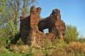 Zachowane resztki zamku