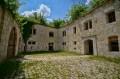 Mały dziedziniec w bastionie