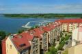 Widok na miasto i port