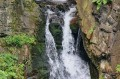 Zbliżenie na wodospad