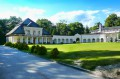 Pałac i galeria łacząca oficynę