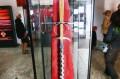Miecz na wystawie czasowej