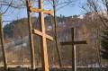 Krzyże przy cerkwi