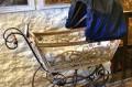 Zabytkowy wózek dziecięcy