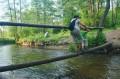 Mostek na drugi brzeg rzeki