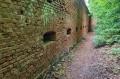 Fragment szlaku przy murach obwodowych