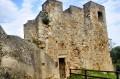 Zamek średni z tarasu widokowego