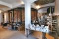 Wielki piec i stanowisko z formami do odlewów porcelany
