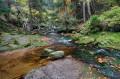 Potok Kamieńczyk przed wodospadem