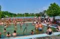 Widok zza basenu leczniczego