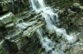 Wodospad z bliska