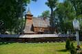 DĘBNO - Drewniany kościół gotycki