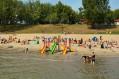 CZŁUCHÓW - Plaża na campingu