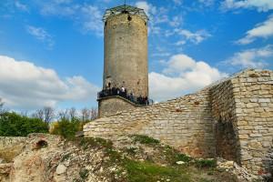 IŁŻA - Zamek średniowieczny