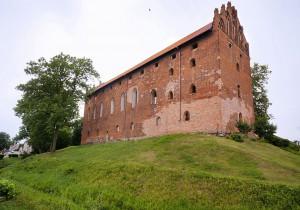 DZIAŁDOWO - Zamek krzyżacki