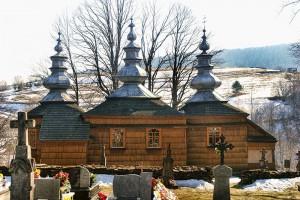 Cerkiew z górki