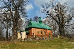 HŁOMCZA - Drewniana cerkiew