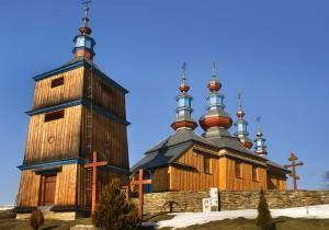 KOMAŃCZA - Drewniana cerkiew