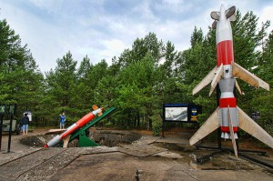 SŁOWIŃSKI PARK NARODOWY - Poligon z wyrzutnią rakiet