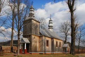TYRAWA SOLNA - Drewniana cerkiew