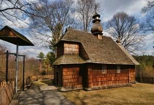 ŁODZINA - Drewniana cerkiew