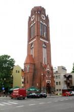 ŚWINOUJŚCIE - Pokościelna wieża widokowa