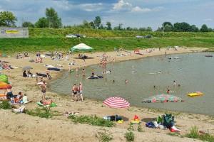 KOZŁÓW - Kąpielisko ośrodka Jałowce