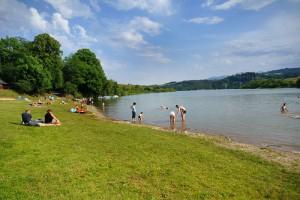 KLUSZKOWCE - Kąpielisko na przystani wodnej Aqualand