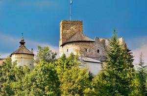 NIEDZICA - Zamek Dunajec