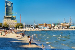 GDYNIA - Plaża Śródmieście
