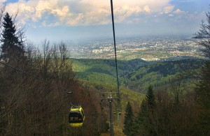 BIELSKO - BIAŁA - Kolej linowa i szczyt Szyndzielnia