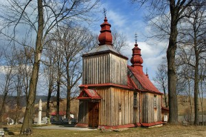 HOŁUCZKÓW - Drewniana cerkiew