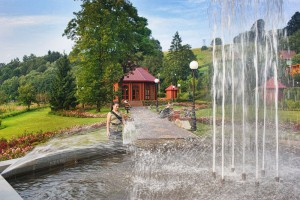 Pijalnia za fontanną