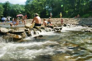 RUDAWKA RYMANOWSKA - Wypoczynek nad rzeką