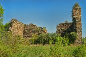 PAPOWO BISKUPIE - Ruiny zamku krzyżackiego