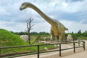 ŁEBA - Park dinozaurów Łeba Park