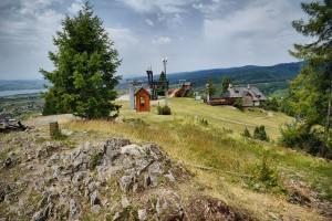 KLUSZKOWCE - Góra Wdżar z kolejką linową