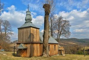 SIEMUSZOWA - Drewniana cerkiew