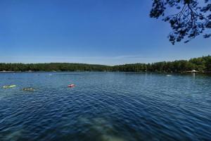 OSOWIEC - Jezioro Srebrne