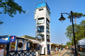 USTKA - Wieża widokowa przy promenadzie