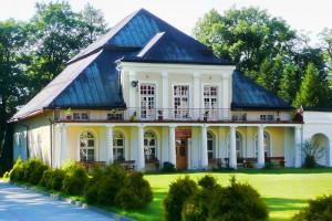 KRASNOBRÓD - Pałac Leszczyńskich